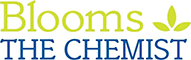 logo blooms the chemist